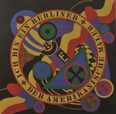 Robert Indiana (Amerika, 1928) #graphic #painting