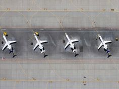 Extraordinary Shots from the Sky - My Modern Metropolis #runway #aeroplane #photography #airport