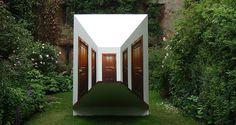 Works: El pasillo(2007) Leandro Erlich #outdoor #indoor