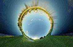 360 Degree World by Randy Scott Slavin » Creative Photography Blog #inspiration #photography #landscape