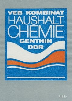German matchbox label | Flickr - Photo Sharing! #matchbox #german #vintage #label