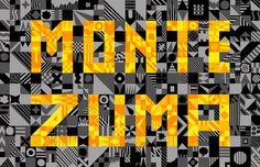 Montezuma : Adam Hayes #pattern #typography