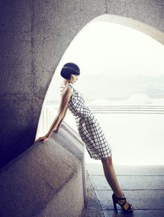 Катрин Крюгер для Stella Magazine