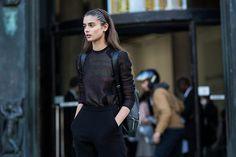 Je te veux. N'arrête pas. #fashion #style #trousers #black