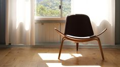 CH07 Shell Chair #chair #wegner