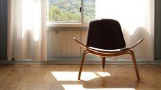 CH07 Shell Chair #chair #wegner