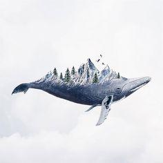 Portuguese Artist Luisa Azevedo Creates Dreamy And Surreal Photo Manipulation