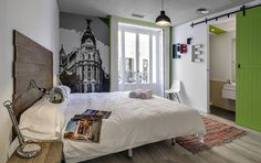 http://www.weheart.co.uk/upload images/uhostelsmadrid6.jpg #interior #design #bedroom