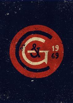 vintage logo circle