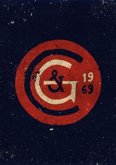 vintage logo circle #design #vintage #logo
