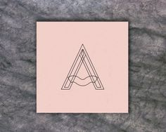 Pyramid Type on the Behance Network #typography