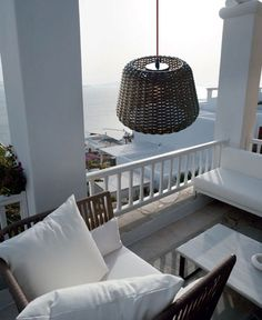 Rattan Lamp by Team Design