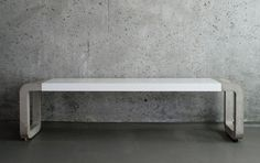 Concrete Bench by Metrofarm GmbH #concrete #design #bench #industrial #metro #farm #gmbh