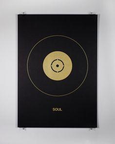 Edits by Edit — Mark Boyce —Soul #music #grapic #poster