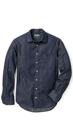 Gitman Vintage Japanese Denim Shirt #shirt