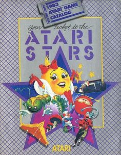 Atari - Atari Stars | Flickr - Photo Sharing! #video #booklet #games #manual