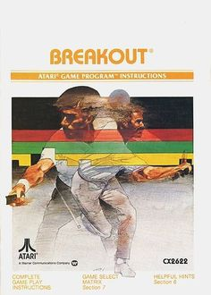 Atari - Breakout | Flickr - Photo Sharing! #games #video #illustration #manual #booklet