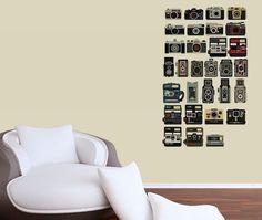 Pixel Perfect Camera Decals #tech #gadget #ideas #gift #cool