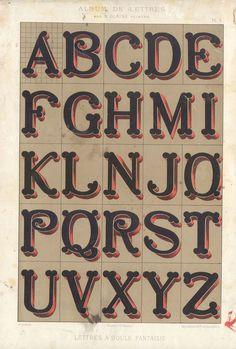 Alphabets_5 #alphabet #vintage #dimension #typography