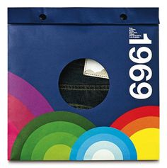 GAP 1969 : Lovely Package . Curating the very best packaging design. #studios #packaging #disc #gap #jeans