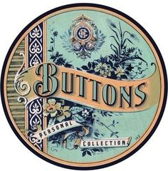 The Graphics Fairy and The Buttons | Just Something I Made #print #graphic #vintage #label