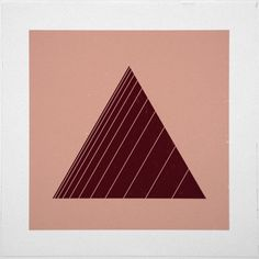 Geometry Daily #geometry #design #graphic #artwork #triangle #minimal #poster