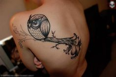 FFFFOUND! | Skin / Owl #tattoo #owl