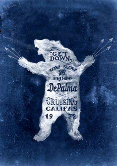 Brush lettering for DePalma Clothing on Behance