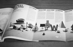Paperscape on Wallpaper magazine #wallpaper #paper