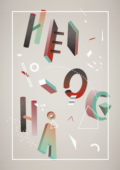 Celio - Gala #abstract #poster #typography