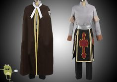 Fairy Tail Sabertooth Rogue Cheney Cosplay Costume Outfits