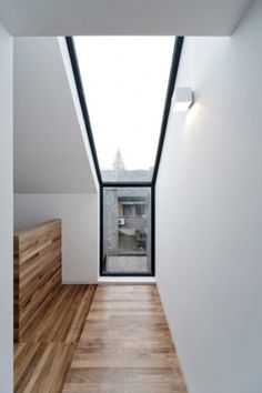 Lyla & Blu #interior #wood #architecture #skylight #light
