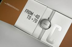lovely package limited edition fedrigoni leica 4 #packaging #leica #design #graphic