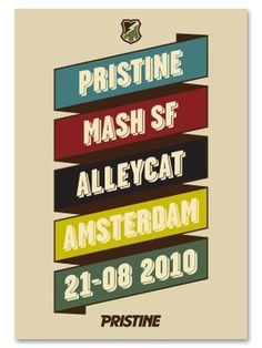 Jeroen Huijbregts » Pristine X Mash SF Alleycat #fixed #jeroen #pristine #gear #kinkerzooi #huijbregts #amsterdam #mashsf