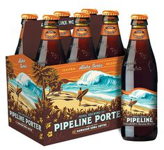 pipeline-porter-six #beer #lable #bottle