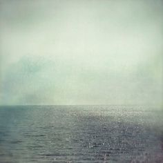 Valentine sale Ocean Photograph Pale Ghost 8x8 Print by ellemoss #sea