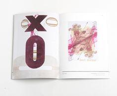 Dever Elizabeth #design #letterpress #book #spread #art #type #layout #typography