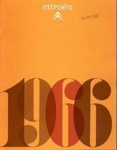1965 Citroen brochure #1960s #brochure