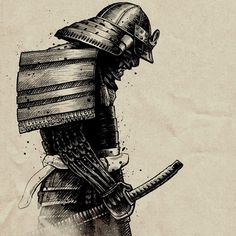 Josh Holland Illustrations #samurai #holland #josh