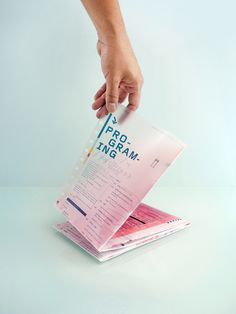 Transform on Behance #print #design #graphic #transparent #carriedo #fred #conference #typography