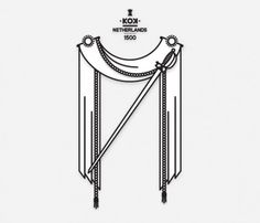 Coat of Arms (mkn design - Michael Nÿkamp) #banner #netherlands #kok #of #rope #sword #1500 #arms #coat