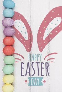 Happy easter day Free Psd. See more inspiration related to Mockup, Template, Typography, Spring, Celebration, Happy, Font, Holiday, Mock up, Easter, Religion, Rabbit, Egg, Calligraphy, Lettering, Traditional, Bunny, View, Up, Day, Top, Top view, Cultural, Tradition, Ears, Mock, Seasonal, Rabbit ears and Paschal on Freepik.