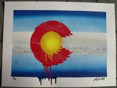 Ian's Prints - Original Stencil & Spraypaint Art by Colorado Artist Ian K. Millard #ian #pride #print #stencil #colorado #millard #spraypaint #art