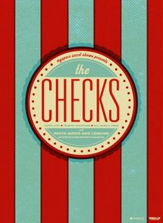 GigPosters.com - Checks, The #print #poster