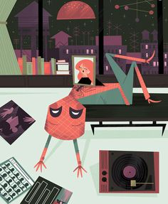 Andrew_Kolb_POP_2_XOXO_MJ_Spider_man_1