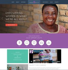https://indegoafrica.org/ THE CHARLES NYC #website #design #web #flat
