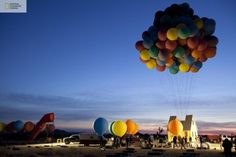 WANKEN - The Blog of Shelby White » Pixar Floating House Comes to Life #floating #house #balloons