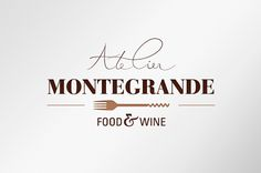 Atelier Montegrande food & wine on Behance