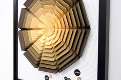 Incredibly Intricate 3D Paper Infographics by Pattern Matters | Colossal #infographics #paper #design #graphic