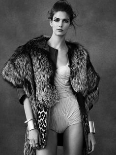 Kendra Spears by Ben Weller for Vogue Spain